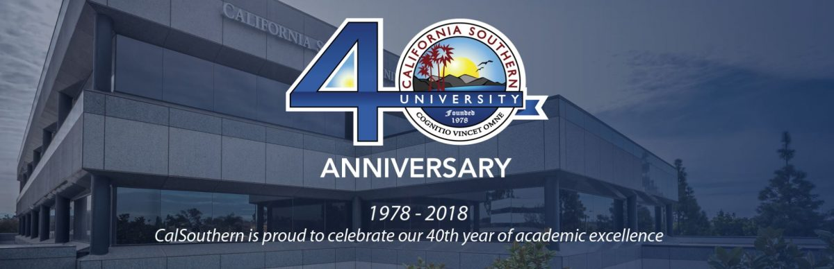 CalSouthern Announces 40th Anniversary