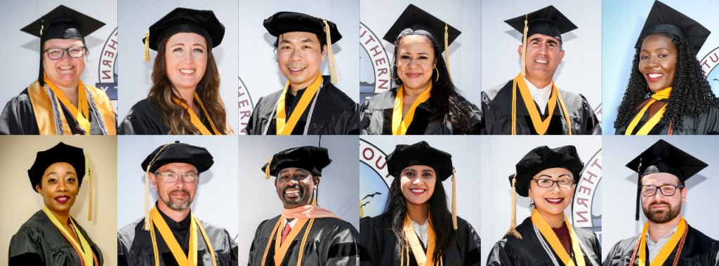Grad Collage for Commencement